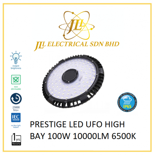 PRESTIGE LED UFO HIGH BAY 100W 10000LM 6500K