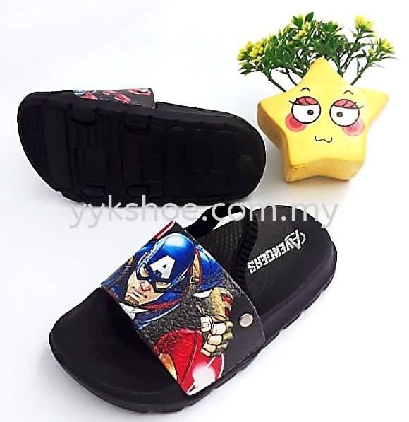 X68029SS-BK Slippers Baby Shoes Kids Malaysia, Kedah, Sungai Petani Supplier, Wholesaler, Supply, Supplies   YEOH YEN KEONG SDN BHD