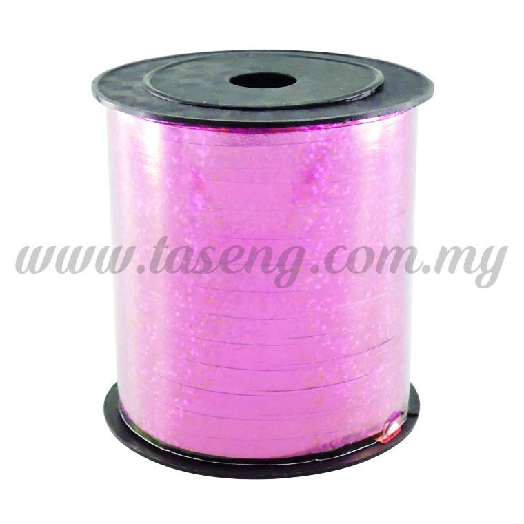 0.5cm Metallic Laser Ribbon -Magenta (RB4-MA)