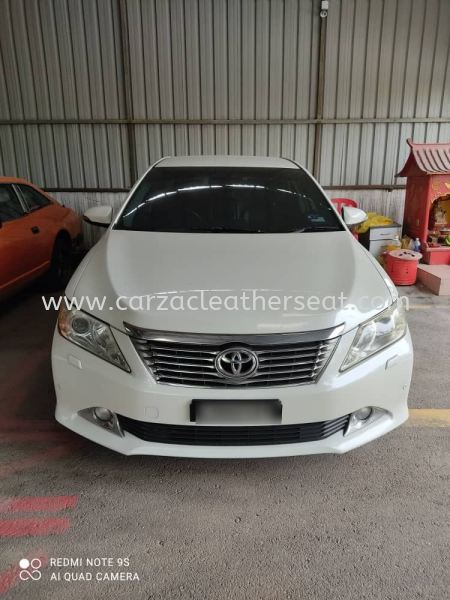 TOYOTA CAMRY SEAT REPLACE SYNTHETIC LEATHER  Car Leather Seat and interior Repairing Cheras, Selangor, Kuala Lumpur, KL, Malaysia. Service, Retailer, One Stop Solution | Carzac Sdn Bhd