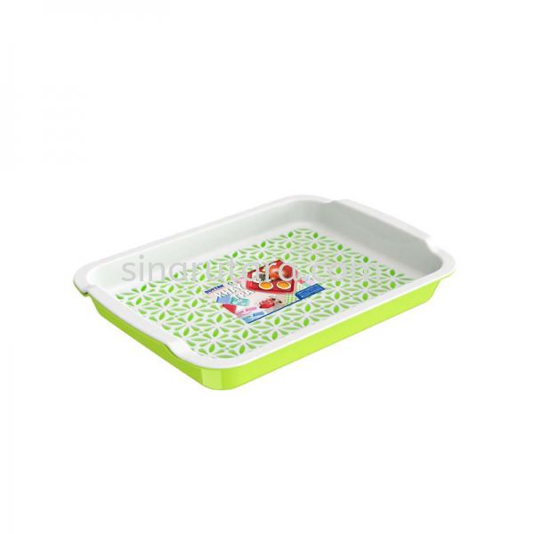 DT864 Rectangular Double-Layer Food Tray (S) Tray Duytan Plastic Duytan  Kedah, Malaysia, Lunas Supplier, Suppliers, Supply, Supplies   TH Sinar Utara Trading