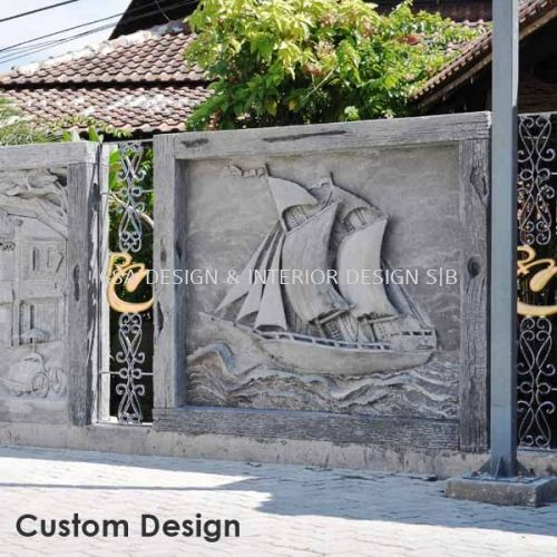Custom Design Feature Wall