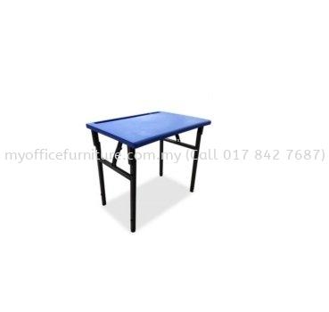 MY-ST005 STUDY TABLE (PLASTIC TOP) -FOLDABLE (RM 108.00/UNIT)