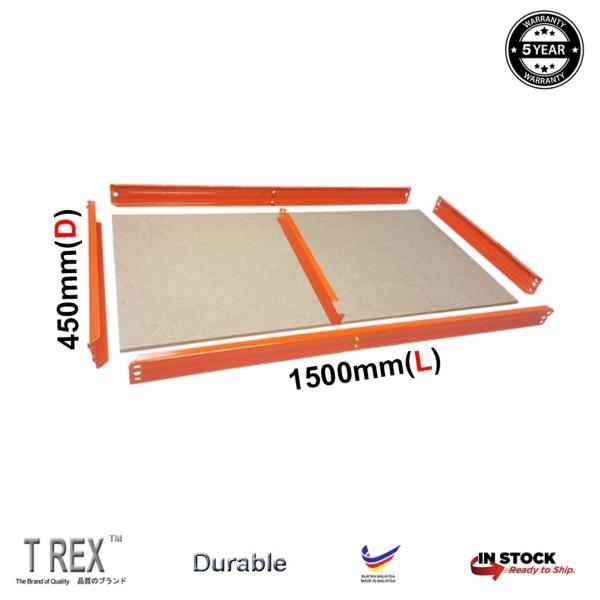 1500mm(L) x 450mm(D)