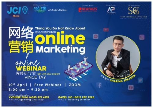 Vince Tay - Thing You Do Not Know About Online Marketing