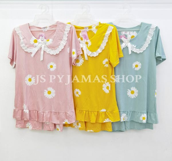 Japanese Kawaii Style doll collar Pyjamas Set Women Cropped Pants Pyjamas Set Women Sleepwear Pyjamas Johor, Malaysia, Batu Pahat Supplier, Wholesaler, Supply, Supplies | Sexy Accessories Trading
