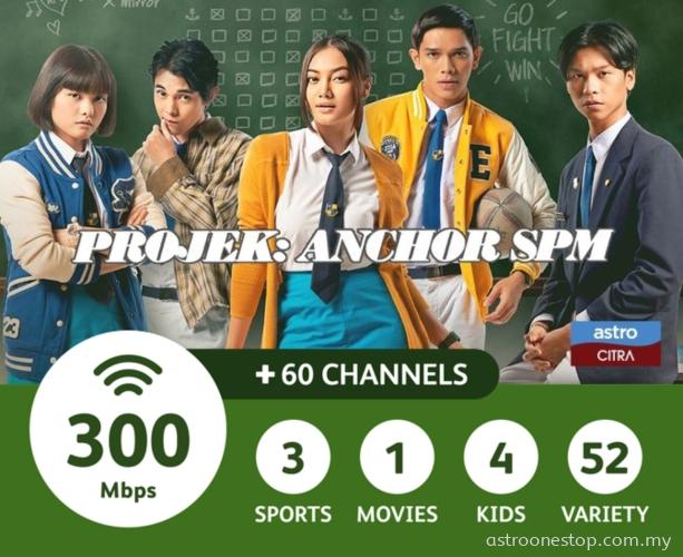 Astro Broadband Bundles Starter Pack (300Mbps)