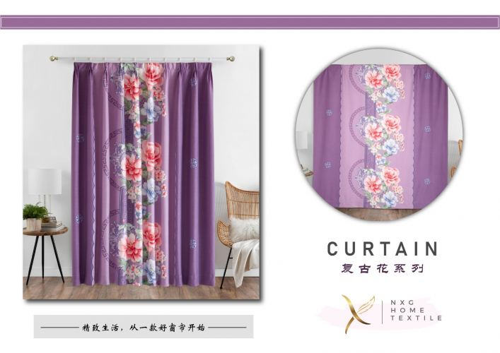 【004】2in1 CURTAIN (PIN & RING)
