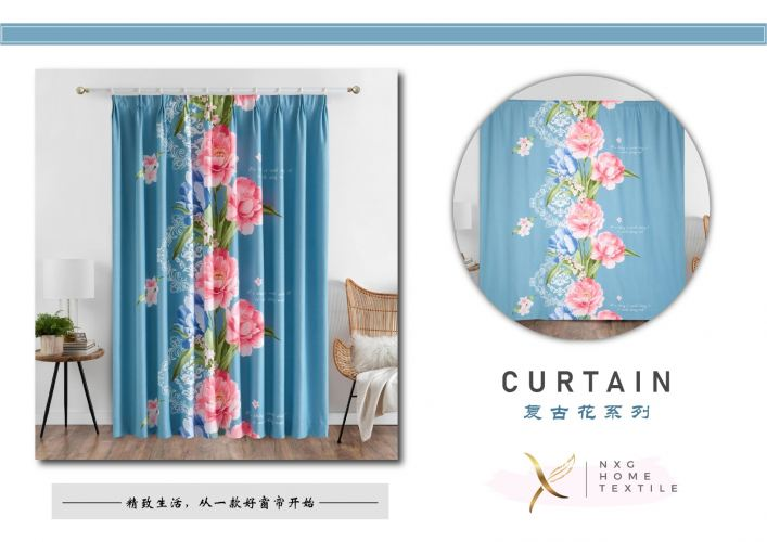 【011】2in1 CURTAIN (PIN & RING)