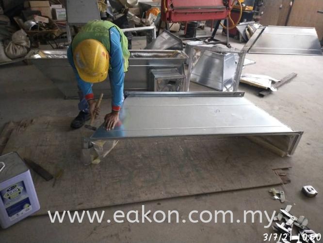 Fabricate duct - Medini Lakeside