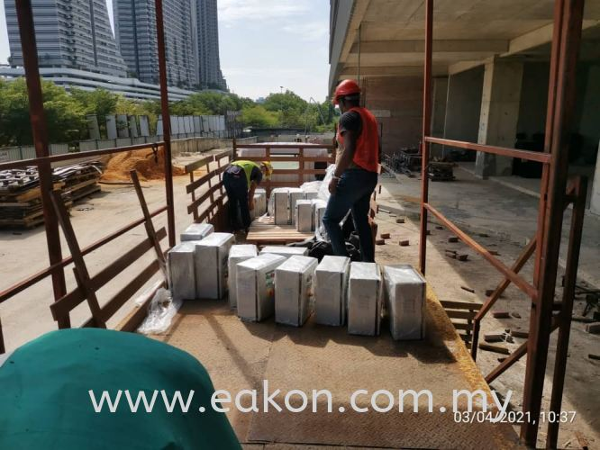 Control Panel delivery - Medini Lakeside, JB