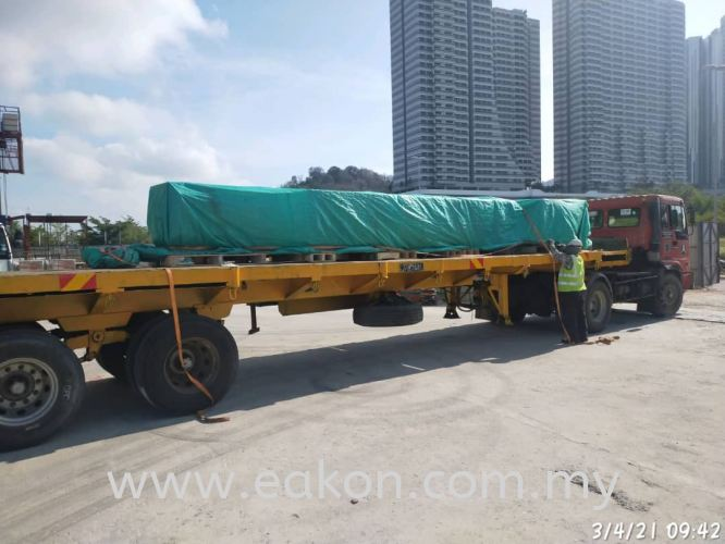 MEDINI - AHU delivery on site