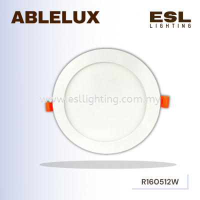 ABLELUX ROUND 12W LED RECESSED DOWNLIGHT 0.9 POWER FACTOR 1080 LUMEN DC 42V ISOLATED DRIVER
