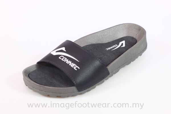 CONNEC Lady Slipper JJ-59-5160- BLACK Colour Ladies Slippers & Sandals Malaysia, Selangor, Kuala Lumpur (KL) Retailer   IMAGE FOOTWEAR COLLECTION SDN BHD