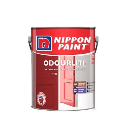 Nippon Paint Odourlite Soft Matt Finish Wood & Metal (P) Pastel Base 5L