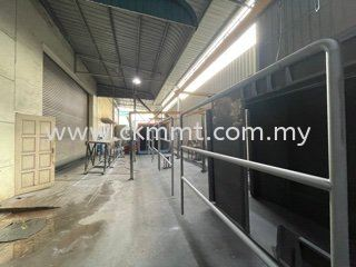 Spray Painting Rail Guards Others Johor Bahru (JB), Malaysia Supplier, Suppliers, Supply, Supplies | CKM Metal Technologies Sdn Bhd