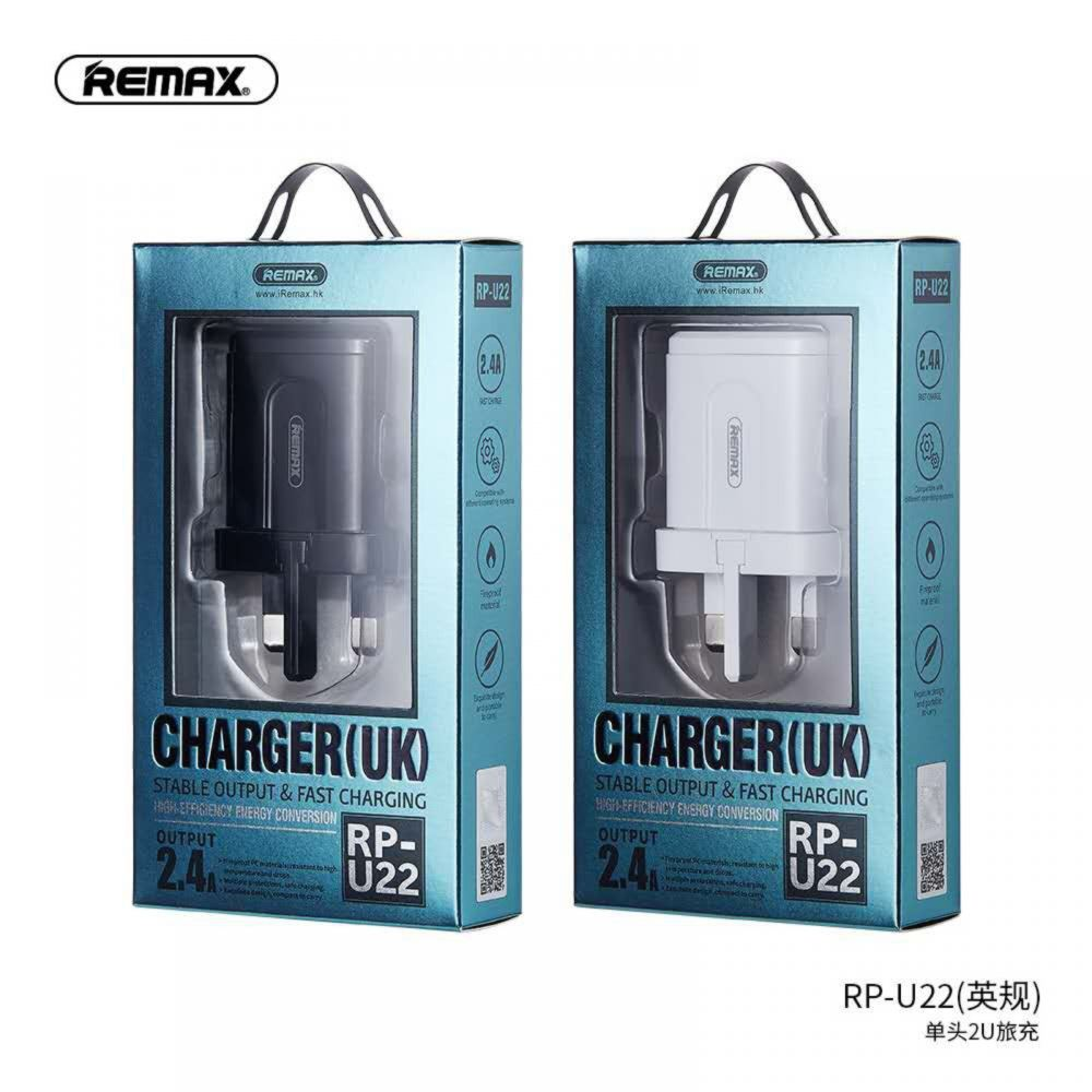 REMAX RP-U22 2.4A Dual USB Charger