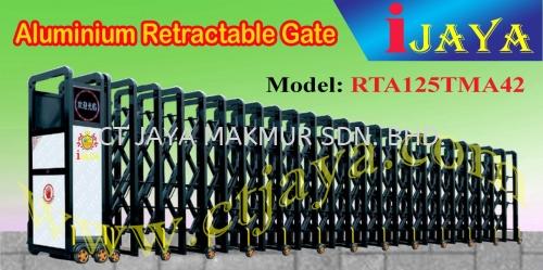 iJAYA RTA125TMA42 Aluminium Alloy Retractable gate