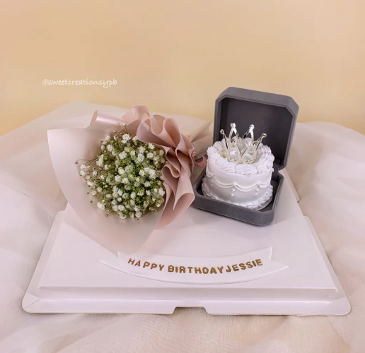 Valentine's Day Ring Cake