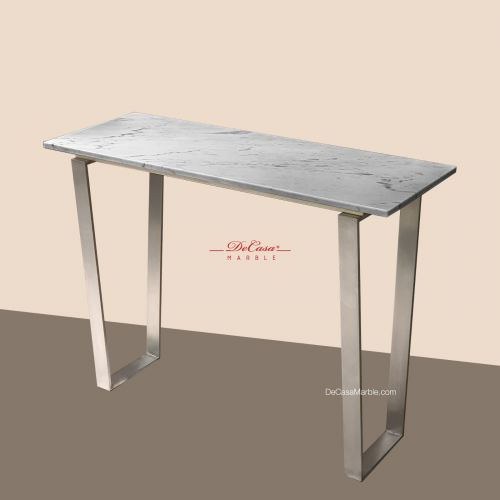 Sivec White | Marble Console Table | Cash & Carry