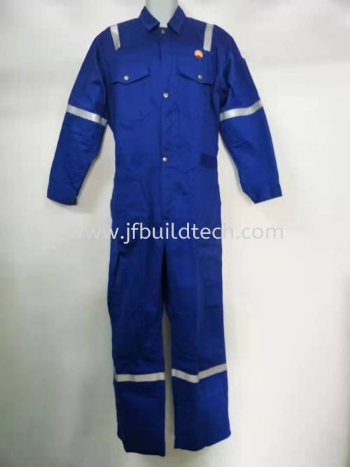 FIRE RESISTANT COVERALL-300gsm