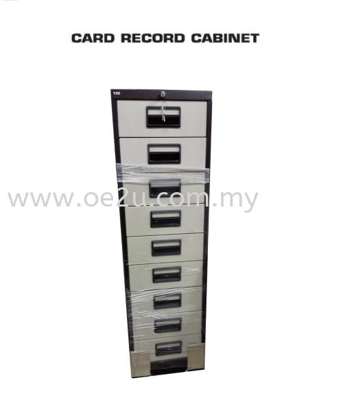 """9 Drawer Card Index Cabinet (Card Size: 6""""x4"""")"""