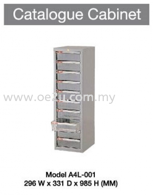 Catalogue Cabinet (1 Section)
