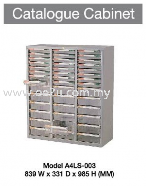 Catalogue Cabinet (3 Section)