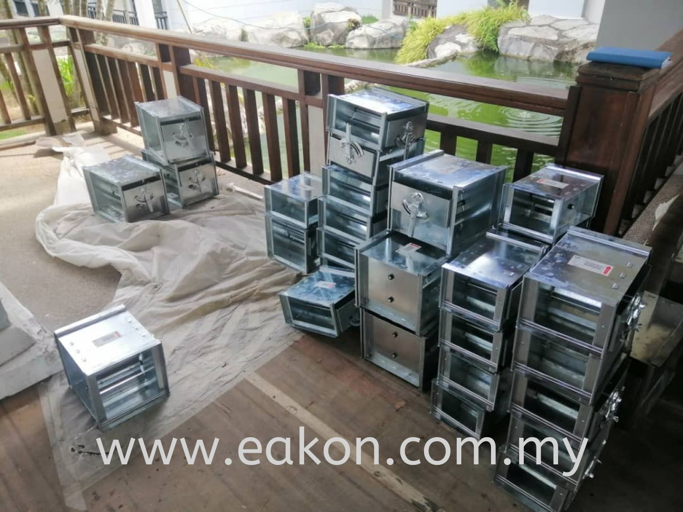 Damper delivery to Doubletree Damai Laut, Lumut