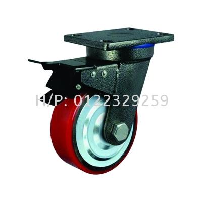 Flat PU Brake