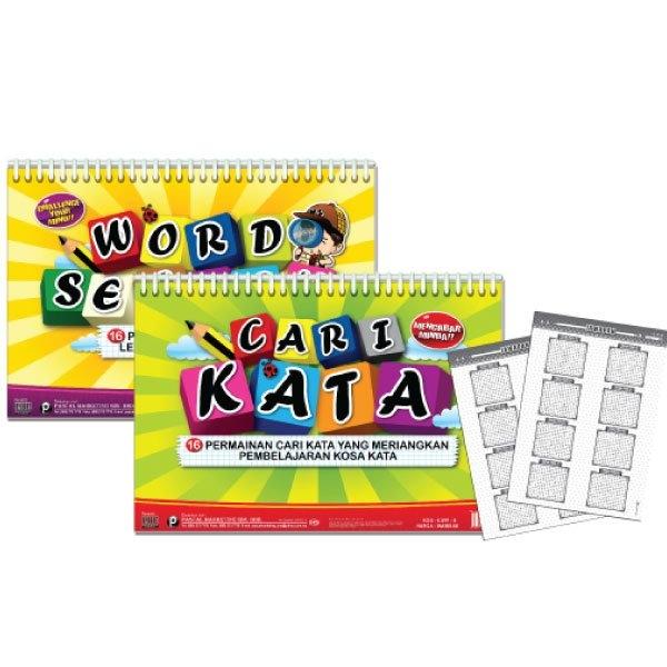 K899(B) CARTA SELAK CARI KATA VERSI BM (WORLD SEARCH) World Search Games Johor Bahru (JB), Malaysia Supplier, Suppliers, Supply, Supplies   Edustream Sdn Bhd