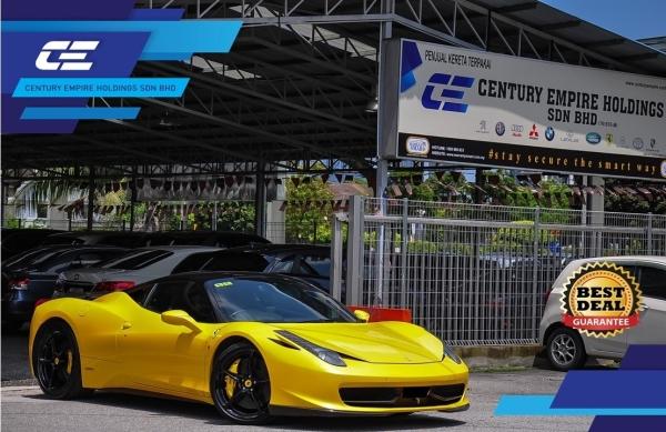 FERRARI 458 ITALIA CARBON PACKAGE  458 ITALIA FERRARI Selangor, Subang Jaya, Malaysia, Kuala Lumpur (KL) Car Dealer | Century Empire Holdings Sdn Bhd