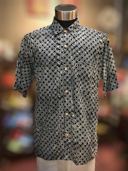 BTK(M)013 Batik Short Sleeve Men Shirt Short Sleeve Mens Wear Batik Series Penang, Malaysia, George Town Supplier, Suppliers, Supply, Supplies | Jade Collection Trading
