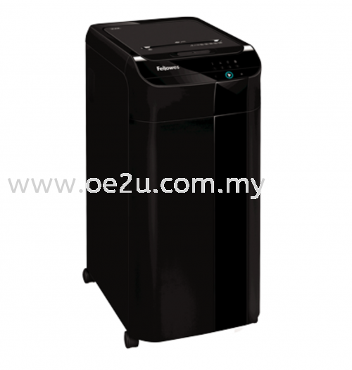 Fellowes AutoMax 350C Auto Feed Paper Shredder (Cross Cut)_(PROMOTION - Trade In Any Shredder for Value of RM250.00)