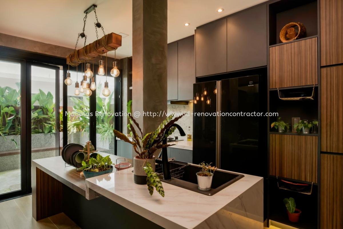 Setia Utama U13/37 Terrace / Link House Interior Design Residential Kuala Lumpur (KL), Maluri, Malaysia, Selangor Design, Renovation, Contractor | Magplas Renovation