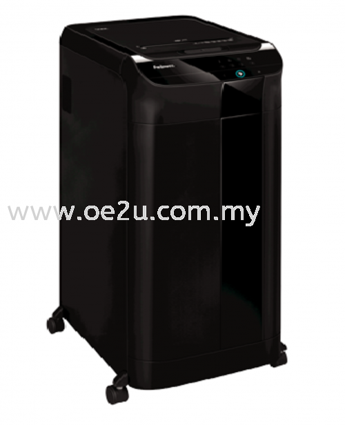 Fellowes AutoMax 550C Auto Feed Paper Shredder (Cross Cut)_(PROMOTION - Trade In Any Shredder for Value of RM250.00)
