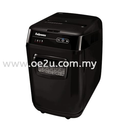 Fellowes AutoMax 200M Auto Feed Paper Shredder (Micro Cut)_(PROMOTION - Trade In Any Shredder for Value of RM120.00)