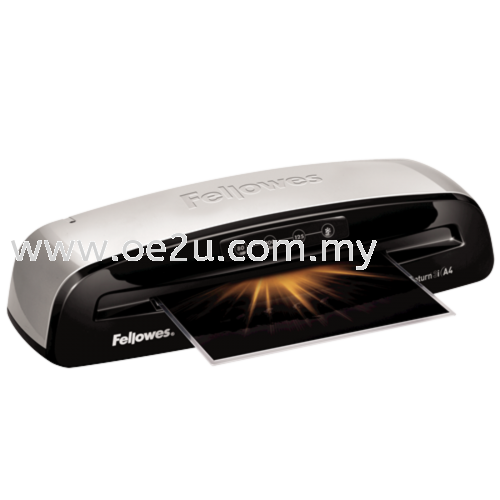 Fellowes Saturn 3i A4 Laminator (PROMOTION - Free 1 Packet of Lamination Pouch 80mic)