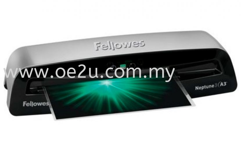Fellowes Neptune 3 A3 Laminator (PROMOTION - Free 1 Packet of Lamination Pouch 80mic)