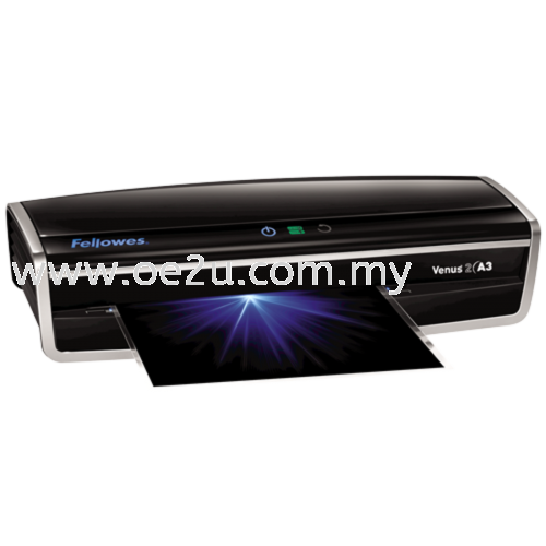 Fellowes Venus 2 A3 Laminator (PROMOTION - Free 1 Packet of Lamination Pouch 80mic)