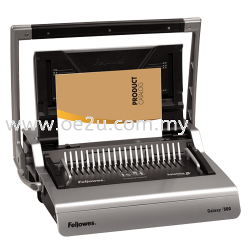 Fellowes Galaxy+ 500 Manual Comb Binder (PROMOTION: Free 2 Boxes of 10mm Comb)