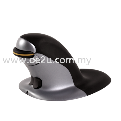Fellowes Penguin Ambidextrous Vertical Mouse (Medium Wireless)