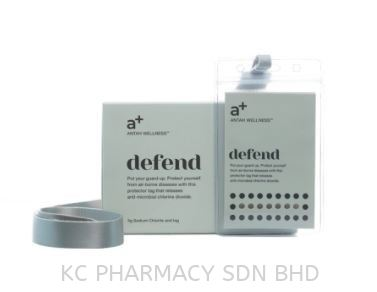 A+ DEFEND HEALTH TAG 5G ( Protect from Virus) Others Kedah, Malaysia, Alor Setar Supplier, Suppliers, Supply, Supplies | KC Pharmacy Sdn Bhd