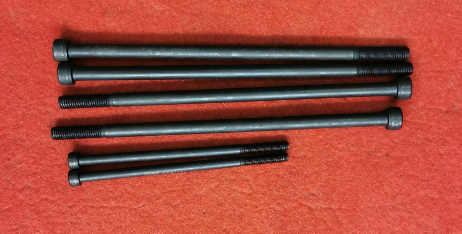 LC135, Y15ZR, FZ150, FZ150 BLOCK SHAFT FOR JET ROD M8X190MM=4PCS M6X120=2PCS 2585CA(HMJMEE)