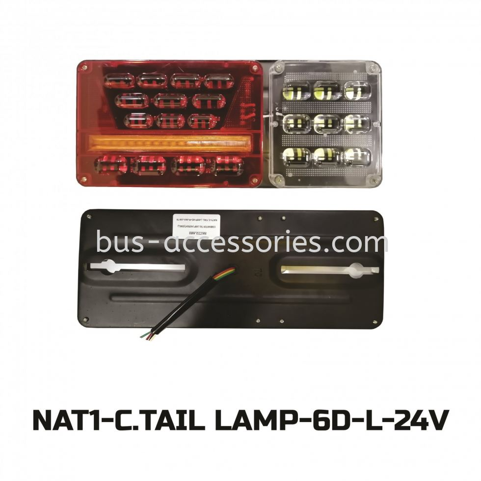 TAIL LAMP COMBINATION (24V)LEFT&RIGHT