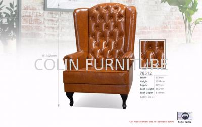 W 78512 Wing Chair