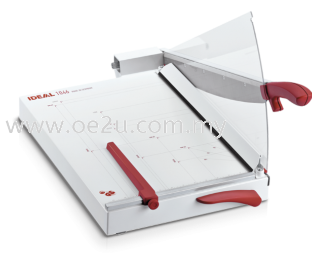 IDEAL 1046 Guillotine Trimmer with Automatic Clamp (Cutting Length: 460mm / Cutting Capacity: 30 sheets)
