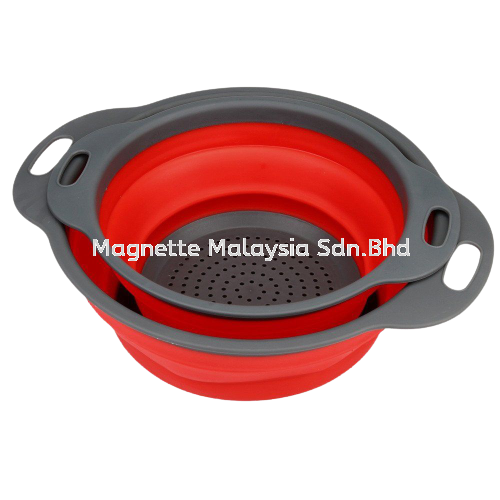 Foldable & Collapsible Silicone Colander Kitchen Tools Selangor, Malaysia, Kuala Lumpur (KL), Klang Supplier, Suppliers, Supply, Supplies | Magnette Malaysia Sdn Bhd