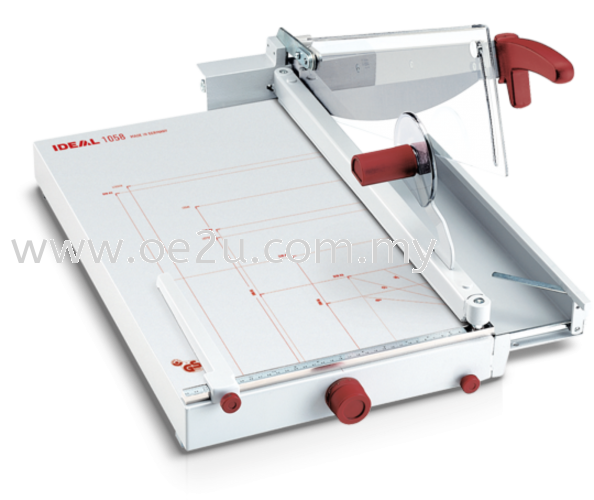 IDEAL 1058 Guillotine Trimmer (Cutting Length: 580mm / Cutting Capacity: 40 sheets)