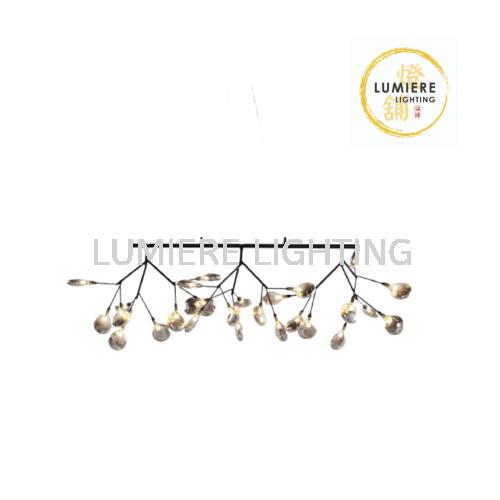 Nordic Post Modern Creative Fairy Glass Pendant Light 9905-27